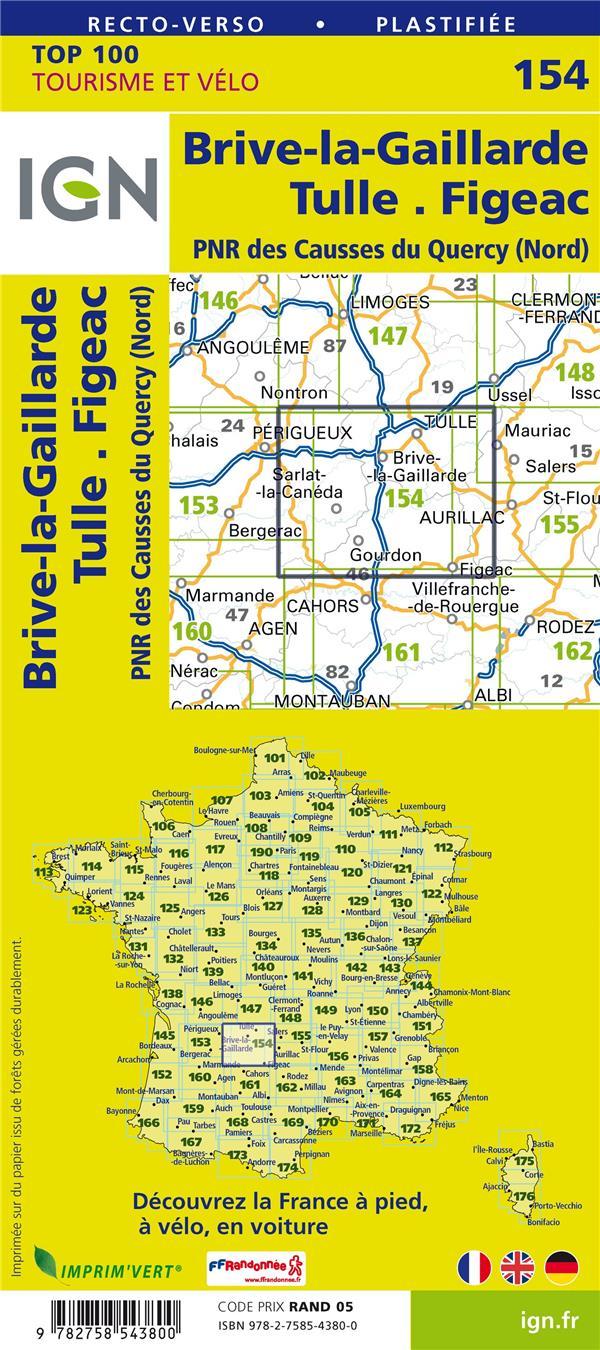 TOP100154 ; Brive-la-Guaillarde ; Tulle, Figeac (4e édition)
