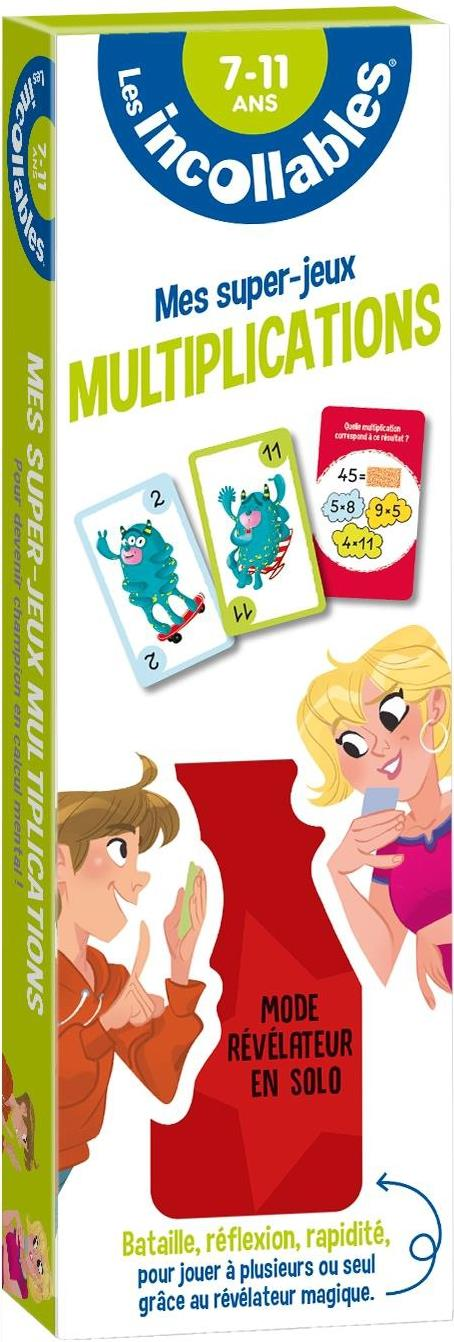 Les incollables ; mes super-jeux ; multiplications