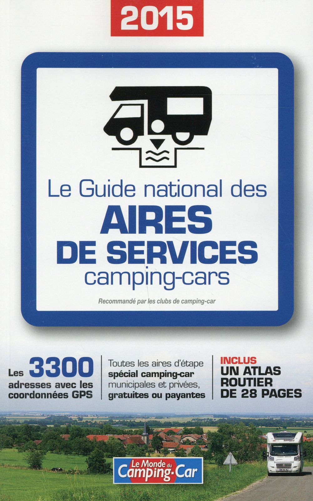 Le guide national des aires de services 2015