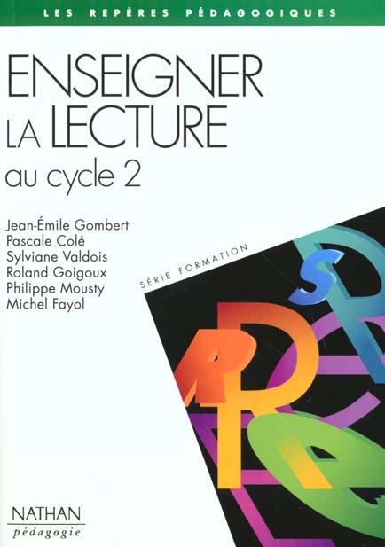Enseigner La Lecture Au Cycle 2