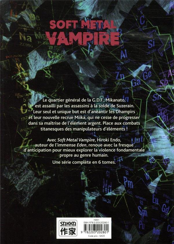 Soft metal vampire T.5
