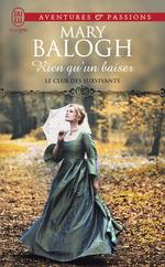 Vente Livre Numérique : Le club des survivants (Tome 6) - Rien qu'un baiser  - Mary Balogh
