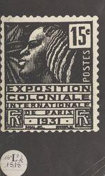 Documents Exposition coloniale, Paris 1931  - Bibliothèques de la Ville de Paris