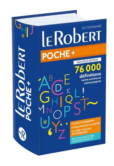 LE ROBERT POCHE + ; dictionnaire