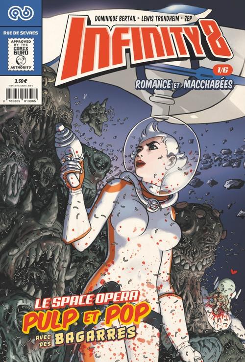 Infinity 8 N.1 ; romance et macchabées