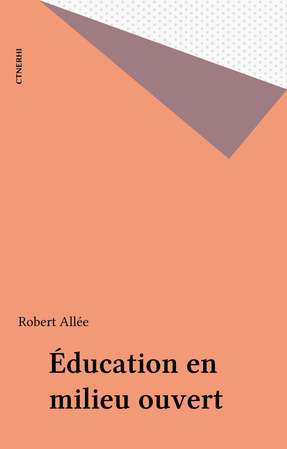 Education en milieu ouvert
