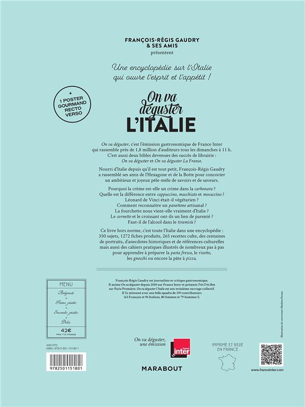 On va déguster l'Italie ; du panettone aux spaghetti al ragù de Scorsese ; tutta la cucina italiana