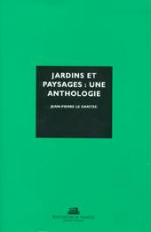 jardins et paysages : une anthologie
