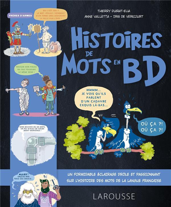 histoire de mots en BD