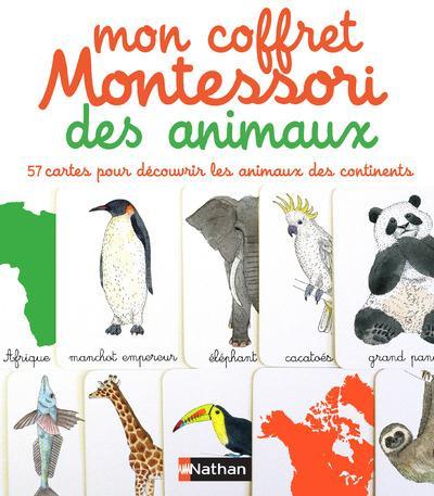 Mon Coffret Montessori Des Animaux ; 2-4 Ans