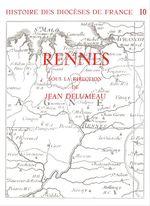 Vente EBooks : Histoire des diocèses de France - Le diocèse de Rennes  - Jean Delumeau