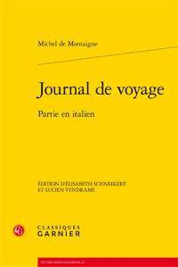 Journal de voyage ; partie en italien