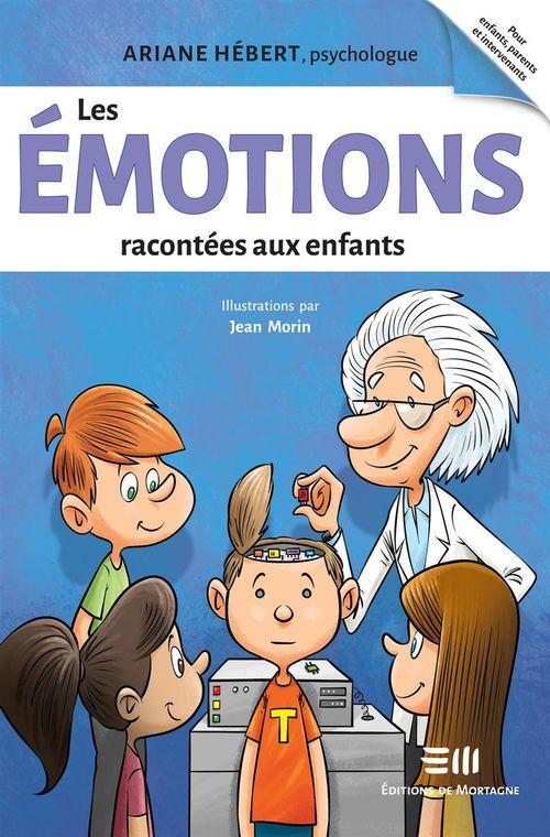 Les émotions racontees aux enfants