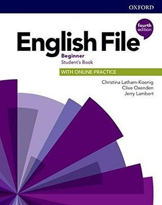 English file: 4th edition beginner. student's book with online practice