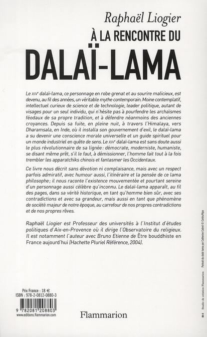 à la rencontre du Dalaï-Lama