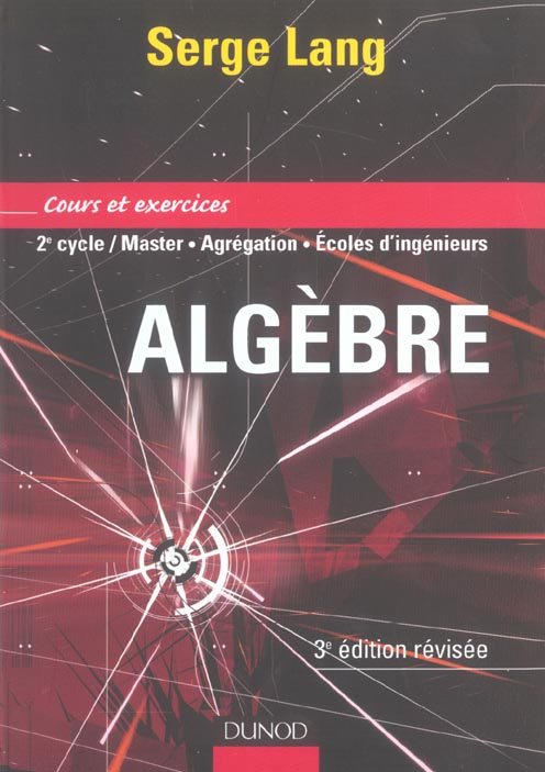 Algebre - Cours Et Exercices