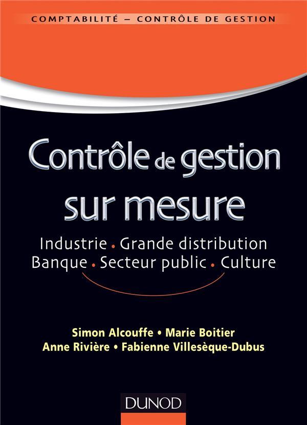 Controle De Gestion Sur Mesure ; Industrie, Grande Distribution, Banque, Secteur Public, Culture