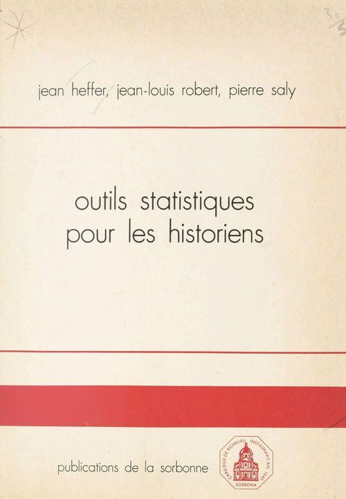 Outils statistiques pour les historiens