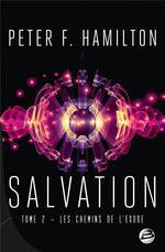 Couverture de Salvation t.2 ; les chemins de l'exode