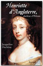 Henriette d'Angleterre, duchesse d'Orléans