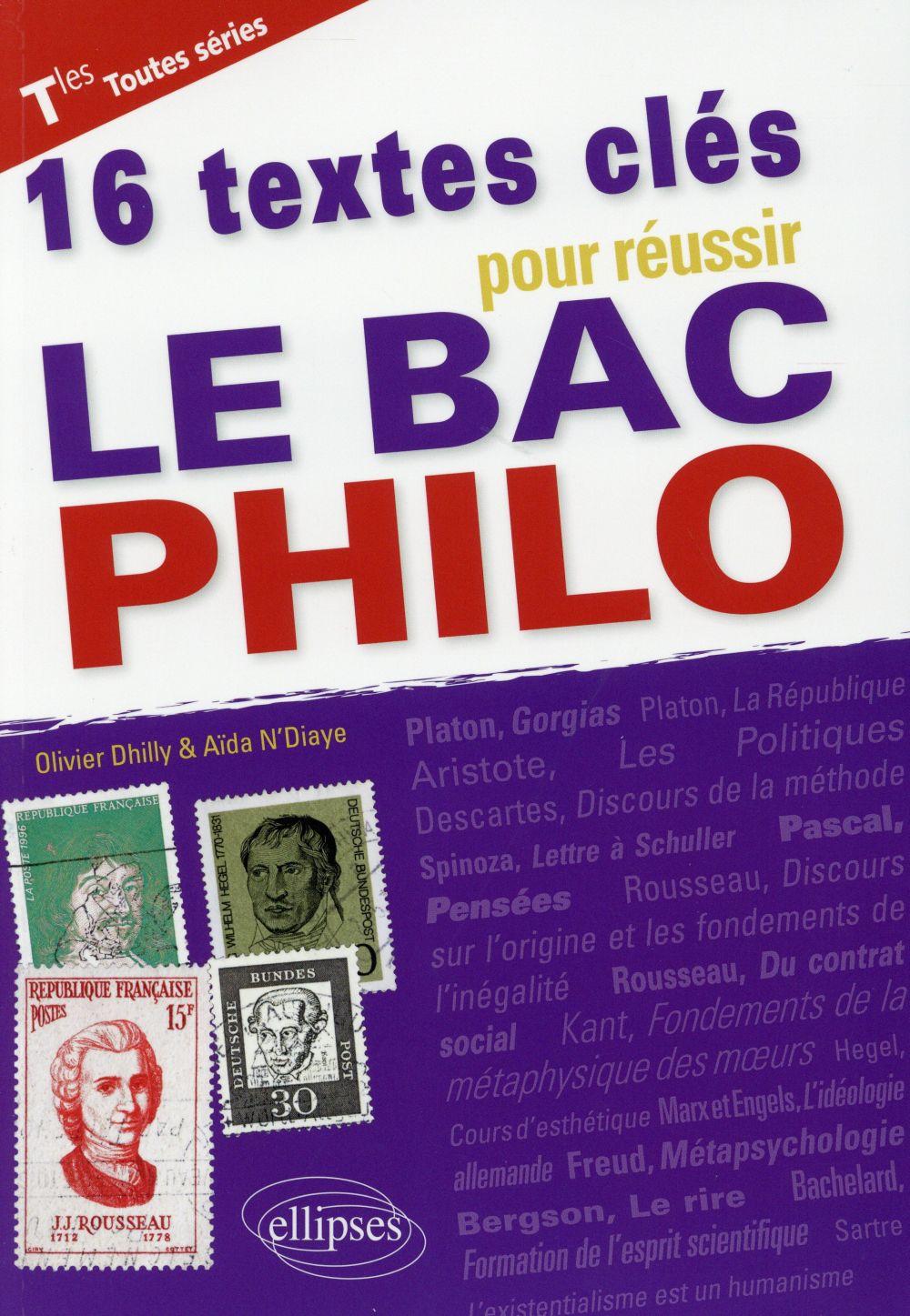 16 textes essentiels pour réviser le bac philo
