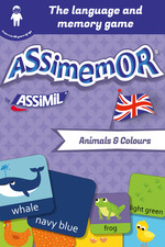 Vente Livre Numérique : Assimemor - My First English Words: Animals and Colours  - Jean-Sébastien Deheeger - Céladon