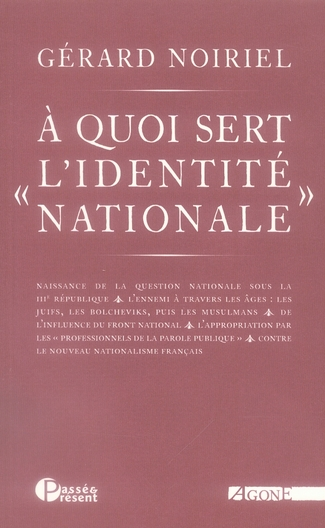 à quoi sert l'identité nationale ?