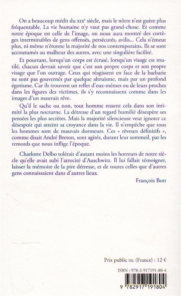 la mémoire et les jours (3e édition)