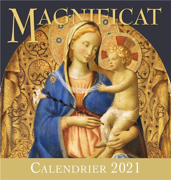 Calendrier d'art (édition 2021)   Collectif   Magnificat