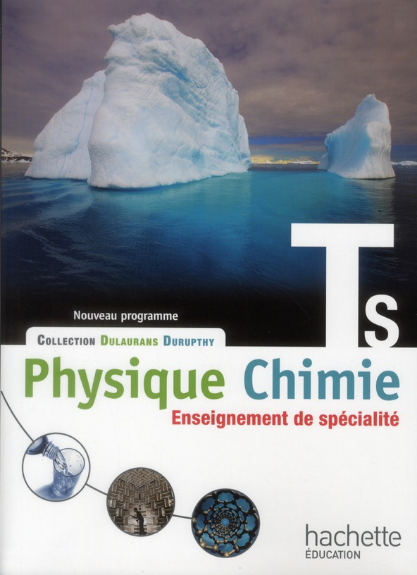 PHYSIQUE-CHIMIE  TERMINALE S SPECIALITE ELEVE 2012