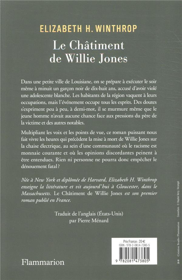 Le chatiment de Willie Jones