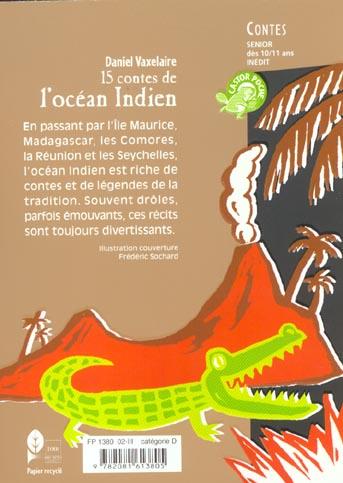 Quinze contes de l'ocean indien