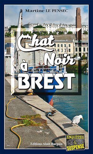 Chat noir à Brest  - Martine Le Pensec