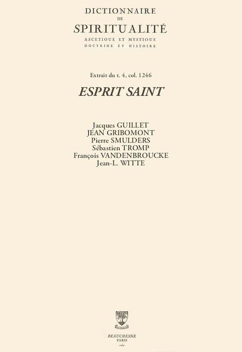 ESPRIT SAINT