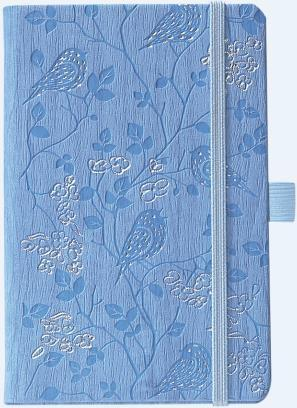 IVORY NATUREOISEAUX BLEU 9 X 14 CM 192 PAGES PICCOLIA
