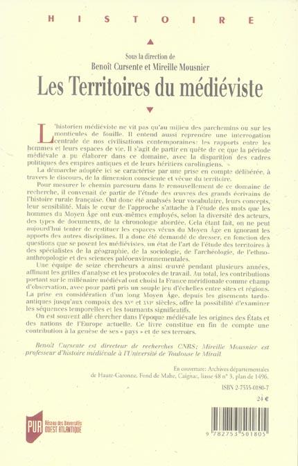 Territoires du medieviste