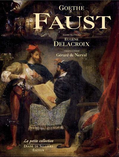 Faust de Goethe illustré par Eugène Delacroix