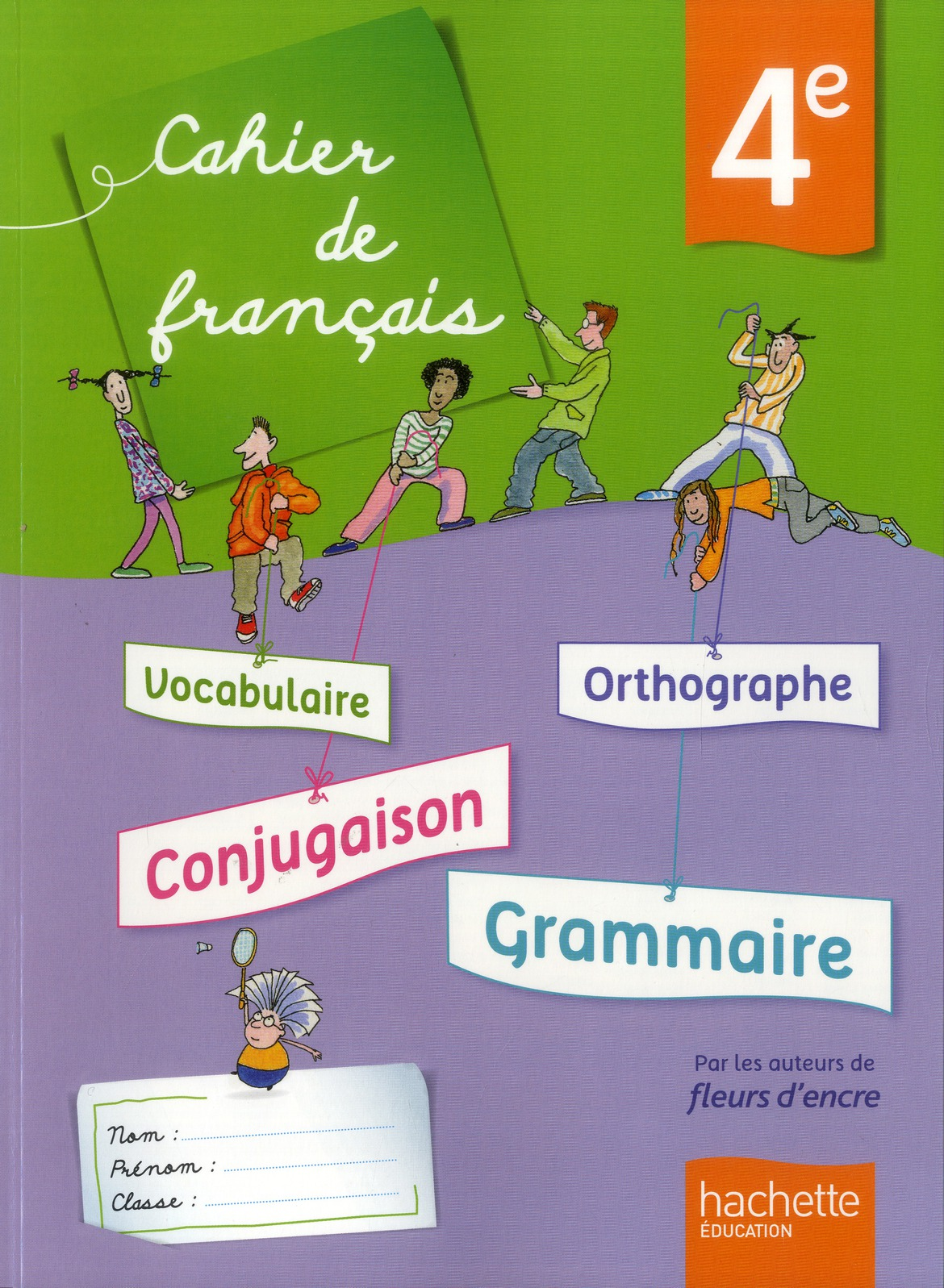 Francais 4eme Cahier De L Eleve C Bertagna F Carrier