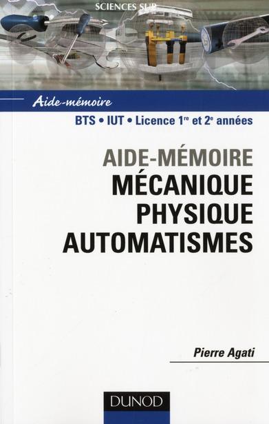 Mecanique Physique Automatismes