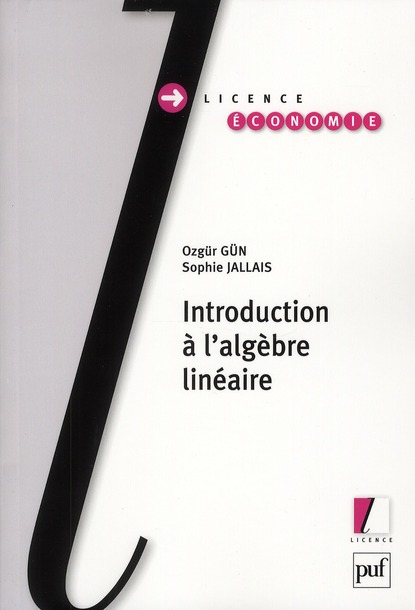 Introduction A L'Algebre Lineaire
