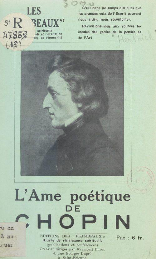 L'âme poétique de Chopin
