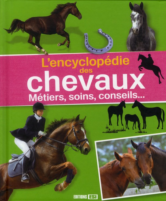 L'Encyclopedie Des Chevaux ; Metiers, Soin, Conseils...