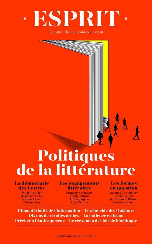 esprit n.476 ; politiques de la littérature