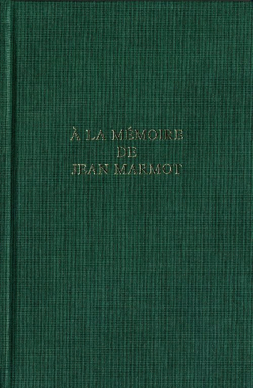 A la memoire de jean marmot
