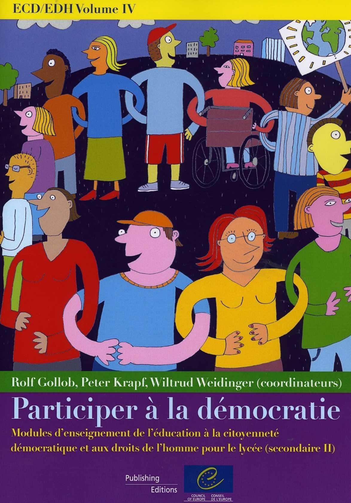 Ecd/edh volume iv participer a la democratie - modules d'enseignement
