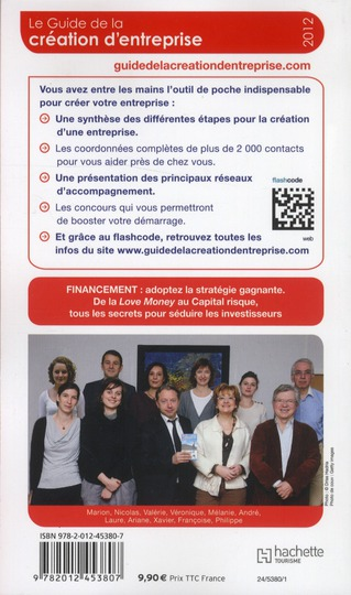 Guide du Routard ; de la création d'entreprise (édition 2012)
