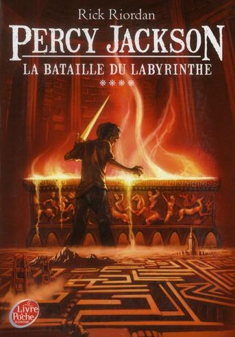 Percy Jackson T.4 ; la bataille du labyrinthe