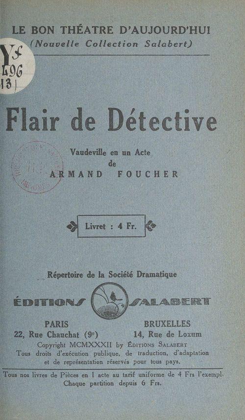 Flair de détective