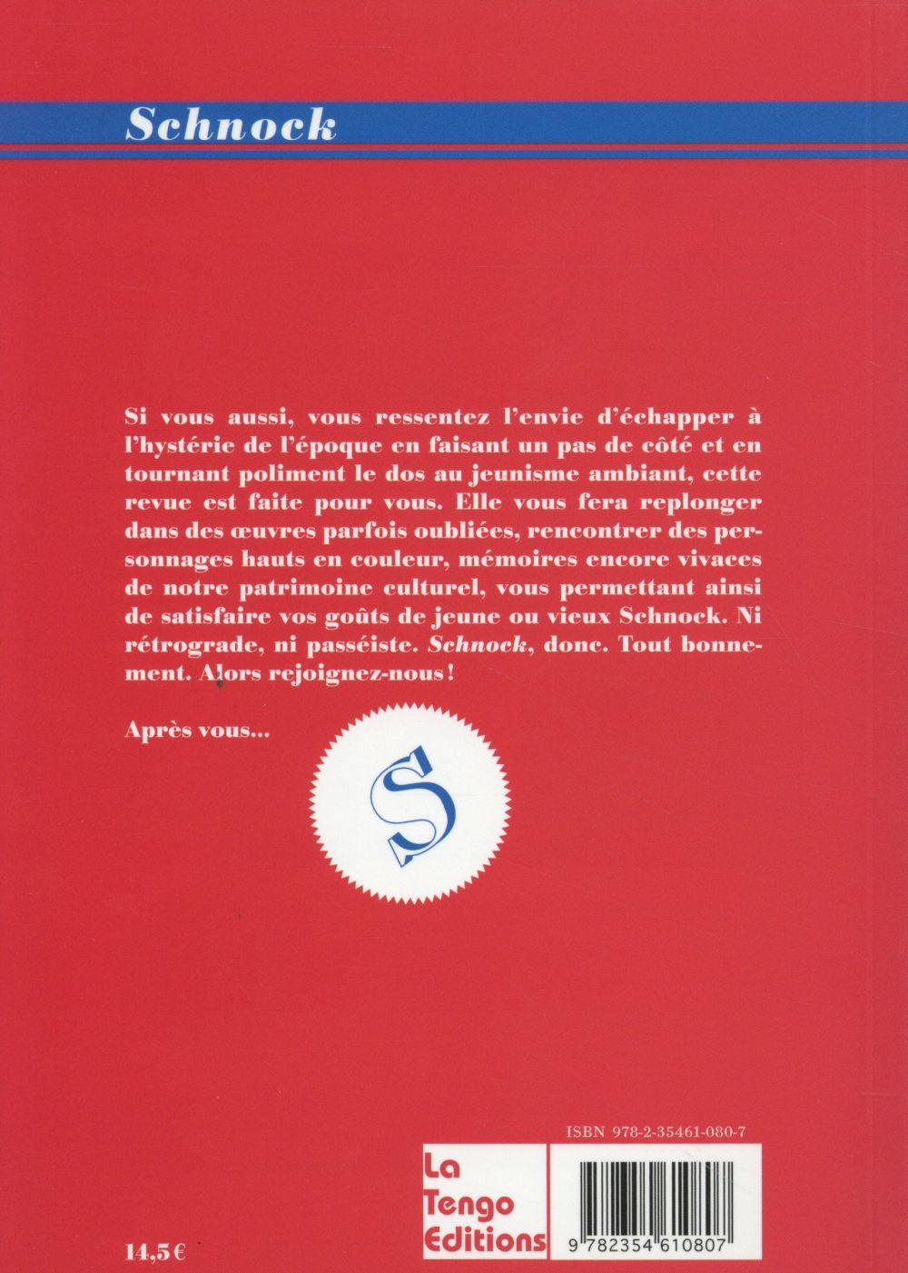 REVUE SCHNOCK n.16 ; Michel Sardou