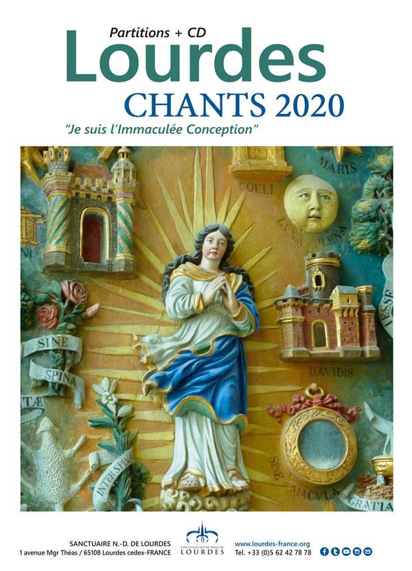 LOURDES - CHANTS 2020 - ED. ADF BAYARD MUSIQUE